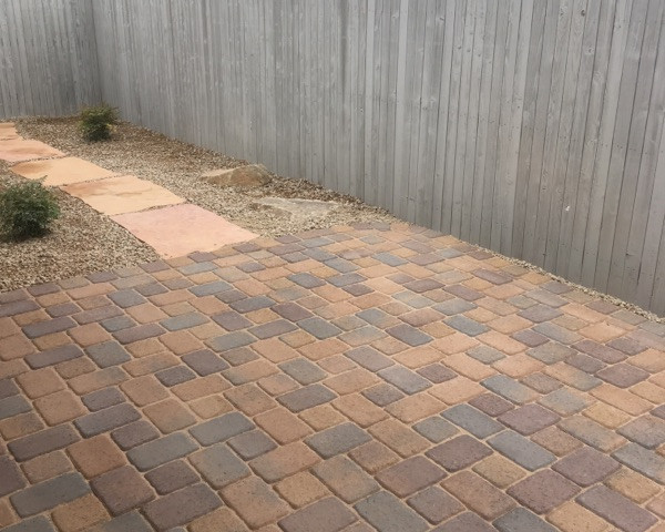 Pavers in the Backyard
