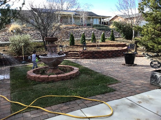 Artificial Turf and Pavers
