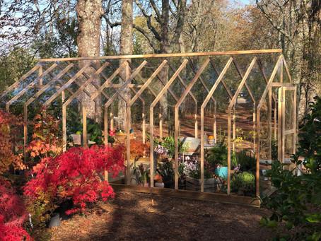 La serre Lancelot, une salle à manger de jardin pour l'hiver