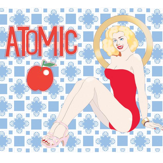 Atomic apple