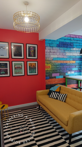 Funky student house in Durham