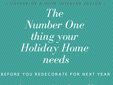Decorating Your Holiday Rental? The Number 1 Thing You Need To Consider
