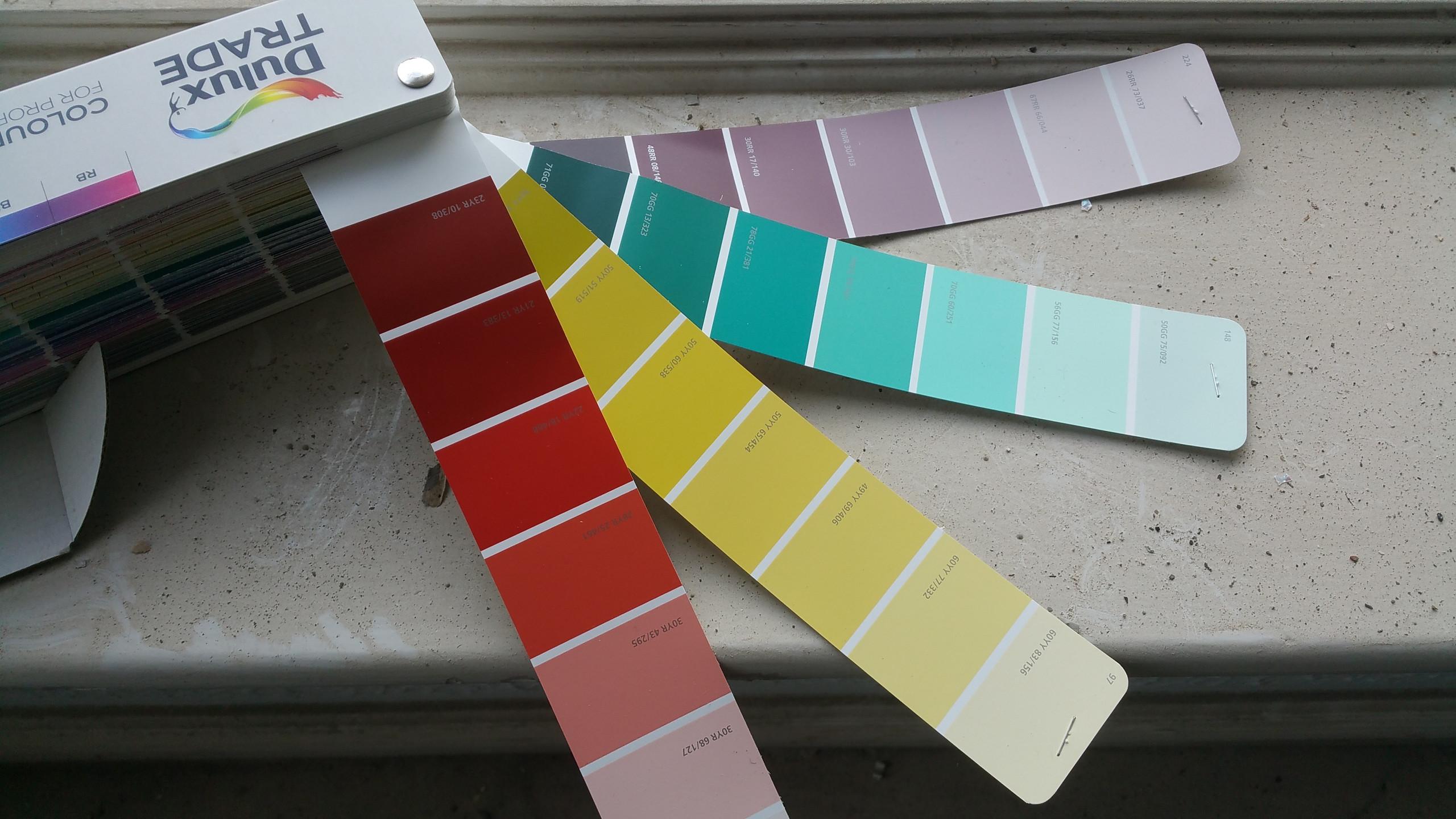 Exciting colour scheme