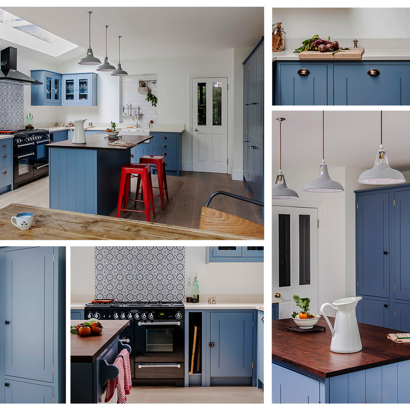 British Standard Cupboards Moroccan Blue