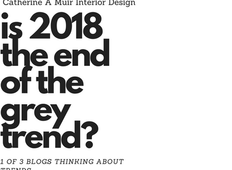Is 2018 the End of the Grey Trend?! Navigating Trends 1 of 3