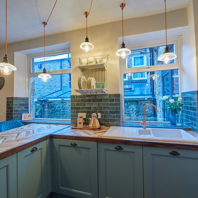 Blue Vintage Kitchen 6