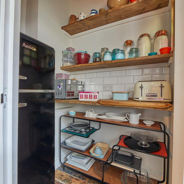 Blue Vintage Kitchen 4