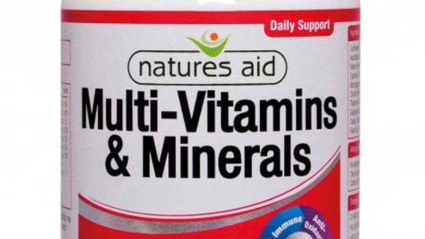 Multi-Vitamins & Minerals with Iron