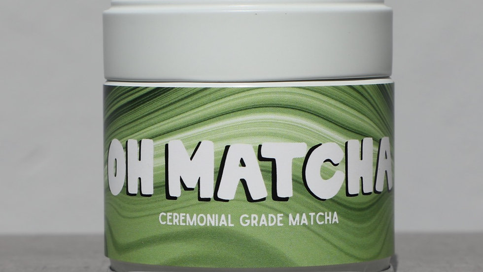 Ceremonial Grade Oh Matcha Can (30g)