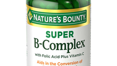 B Complex with Super with Folic Acid + Vitamin C