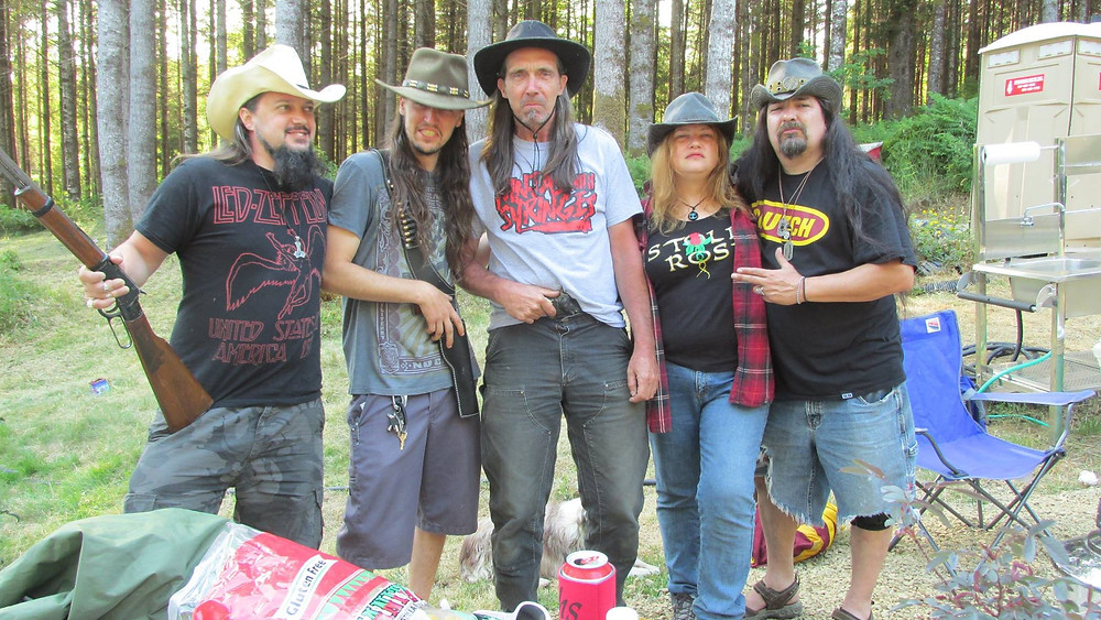 OUTLAWS! STOLEN ROSE WITH OUR SPIRIT GUIDE AND OWNER OF THE CLAM SHACK WARREN