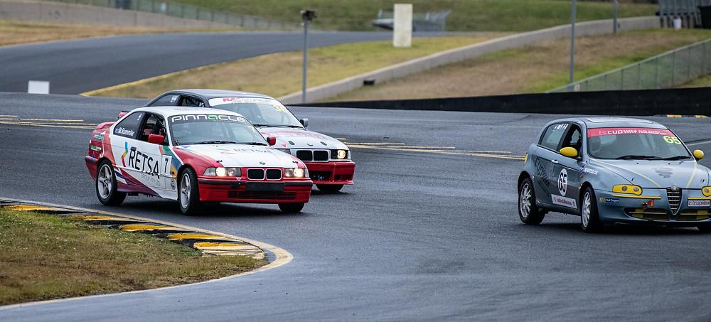 Turn 8 at Sydney Motorsport Park.