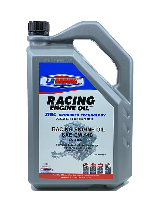 LA Racing Engine Oil SAE 0W/40