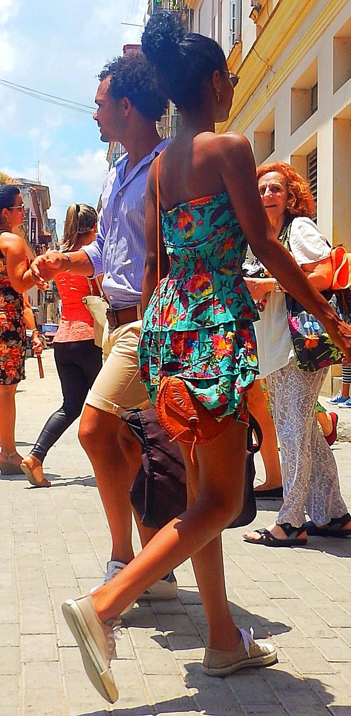 Cuban locals exceptional posture
