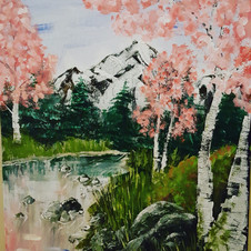 Acrylic river