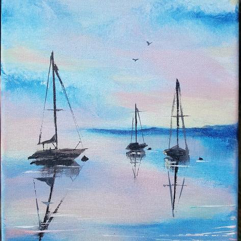 Acrylic boats