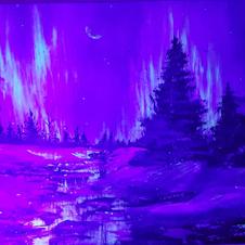 Acrylic aurora