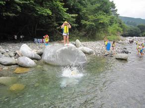 募集スタートです:アドベンチャークラブ「大芦川・自然遊び」 開催日は7/30(火)、7/31(水)、8/1(木)です。