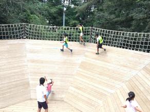 フィールドアスレチック in 清水公園 2019/9/1