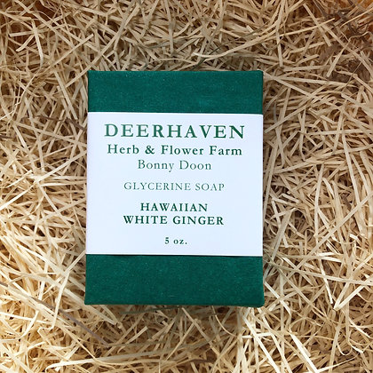 Hawaiian White Ginger Soap