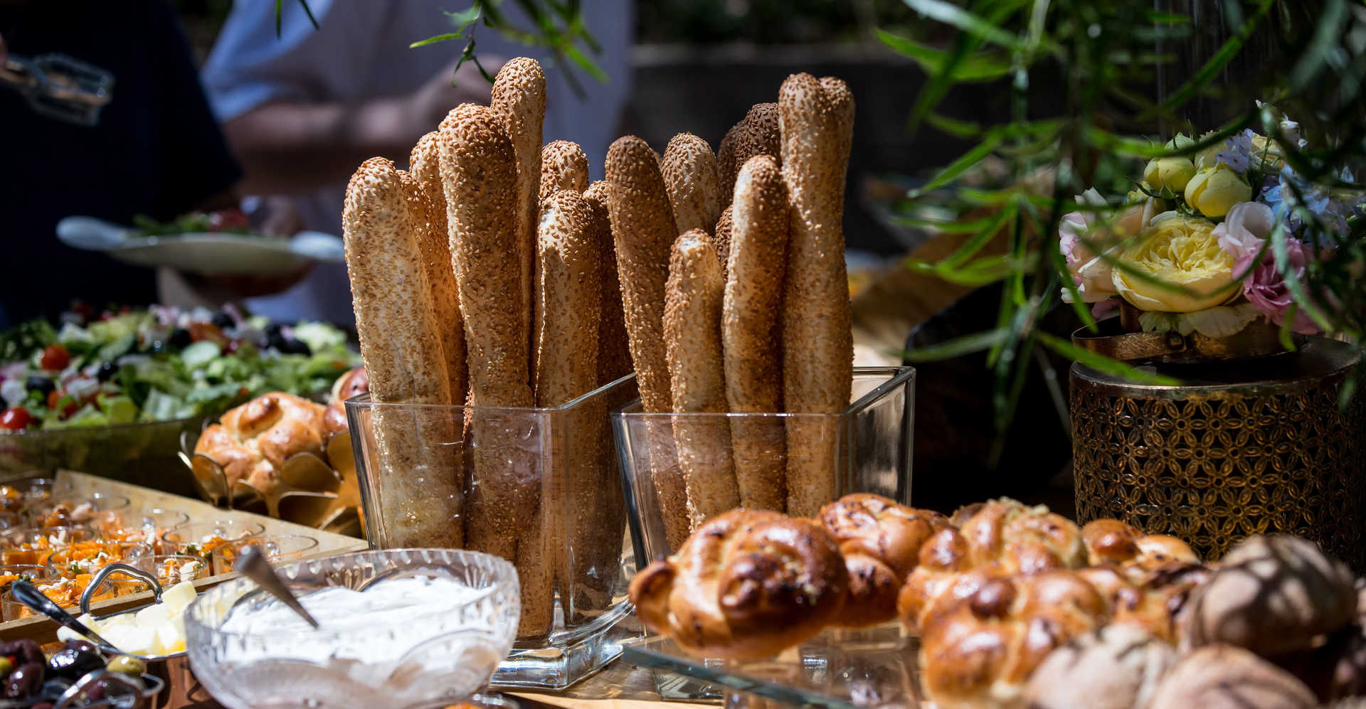 מזנון לחם בגוונא אירועים - Gavna Events