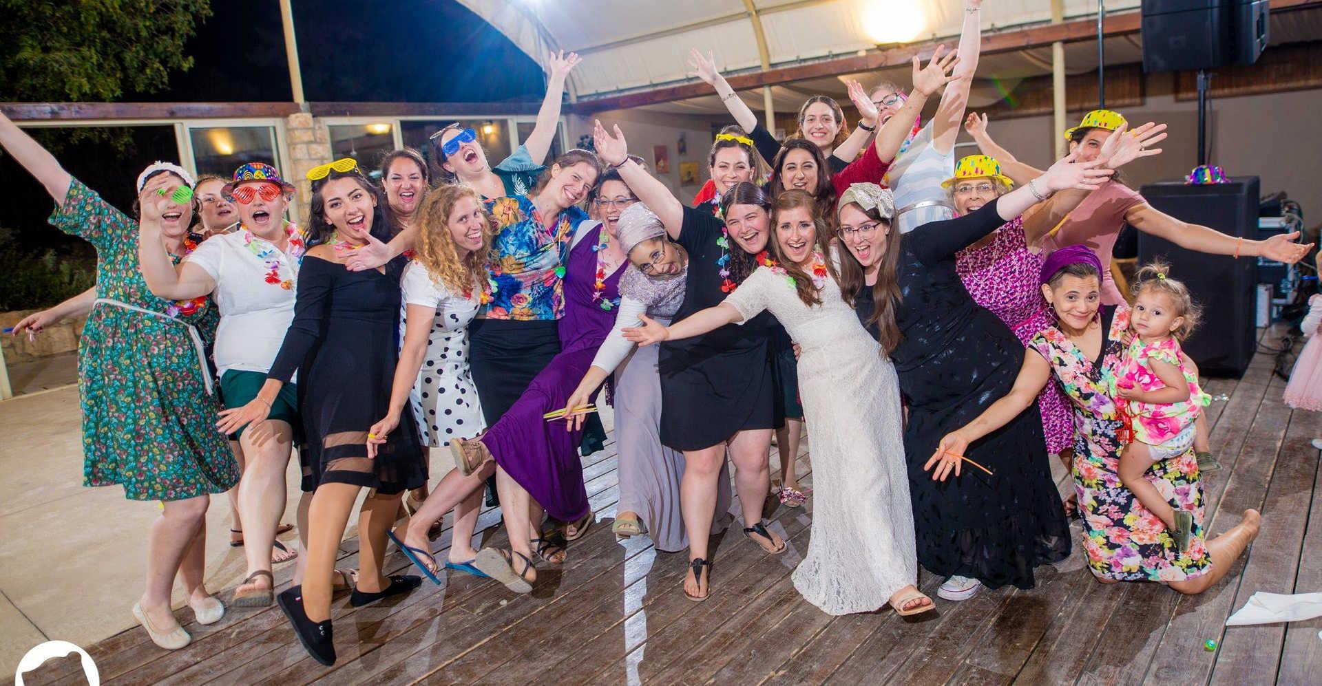 חגיגה בחתונה גוונא אירועים - Gavna Event
