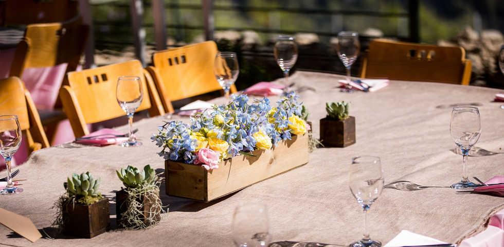 עיצוב שולחן גוונא אירועים - Gavna Events