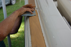 Wood restoration - Step 7