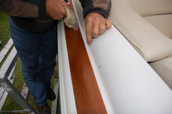 Wood restoration - Step 20