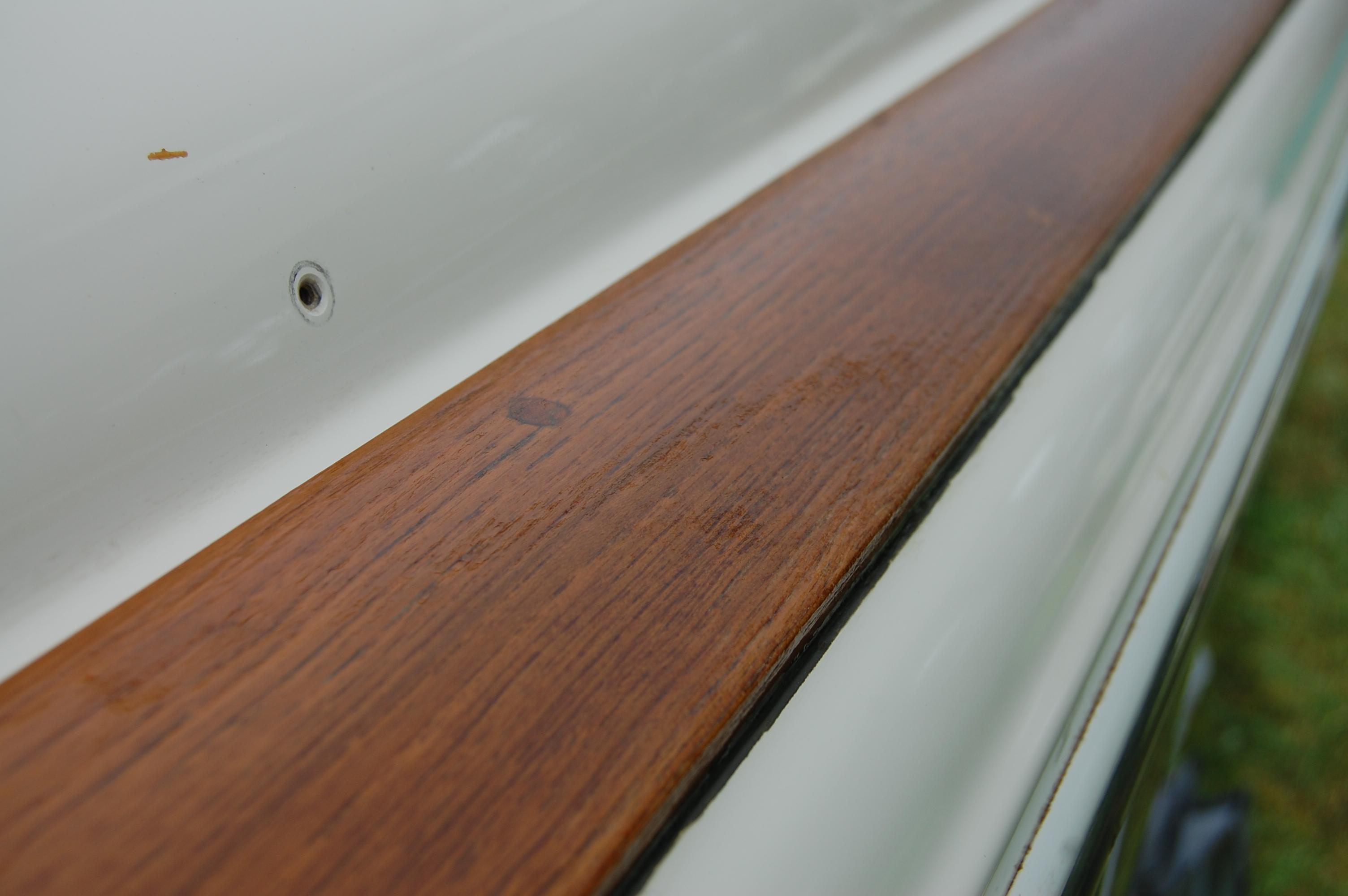 Wood restoration - Step 23