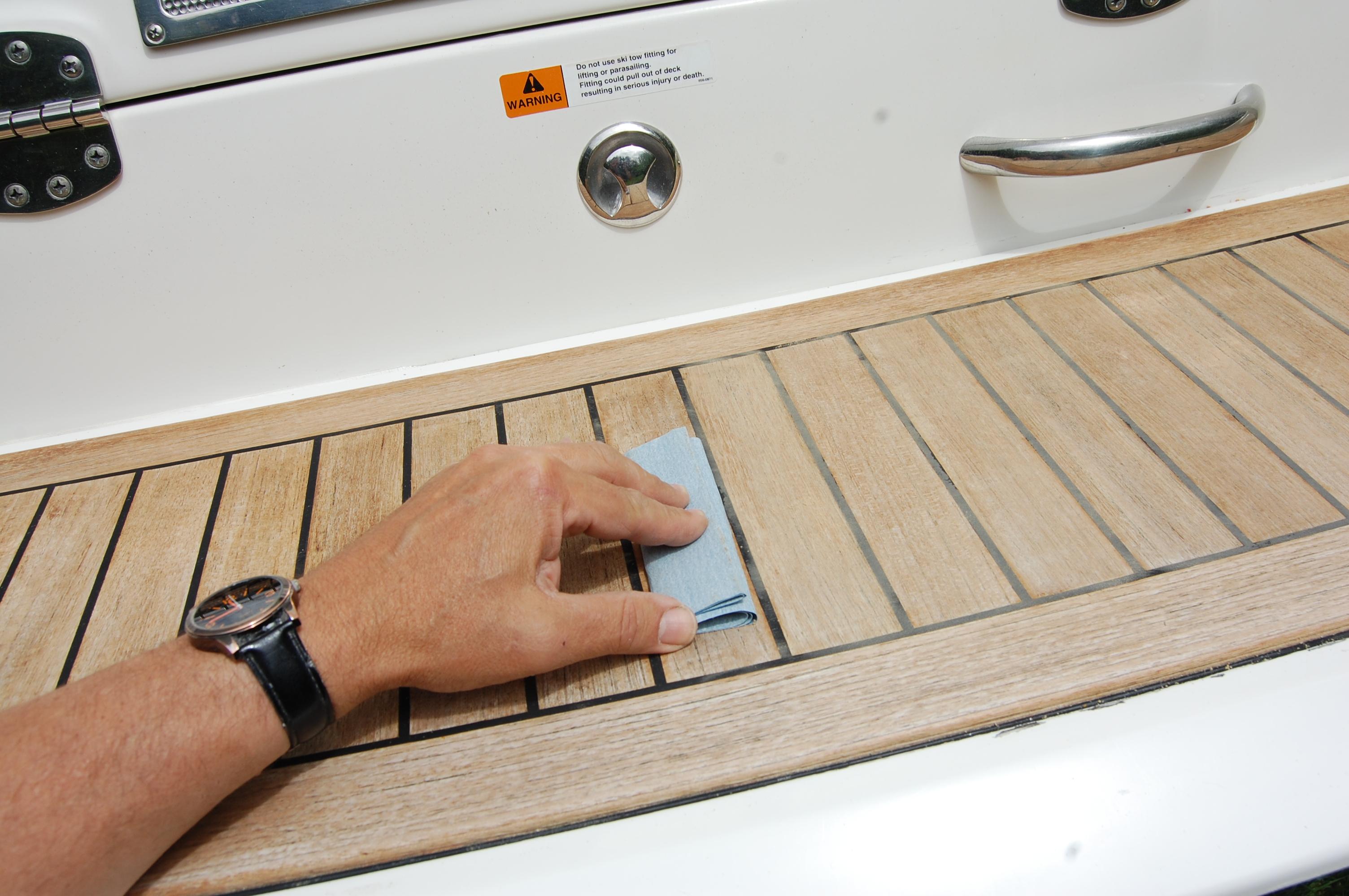 Wood restoration - step 6