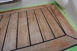 Wood restoration - Step 2