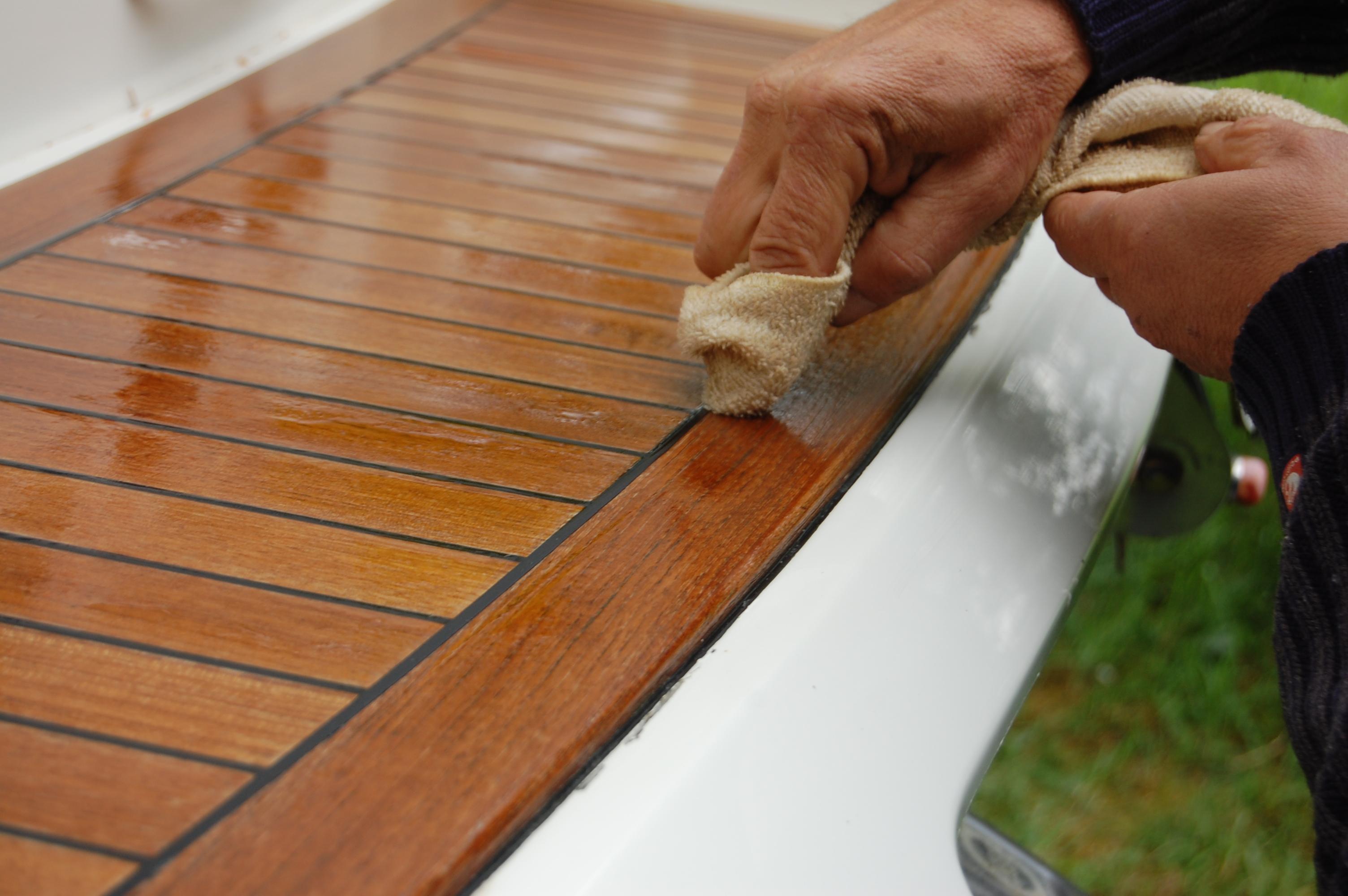 Wood restoration - Step 12