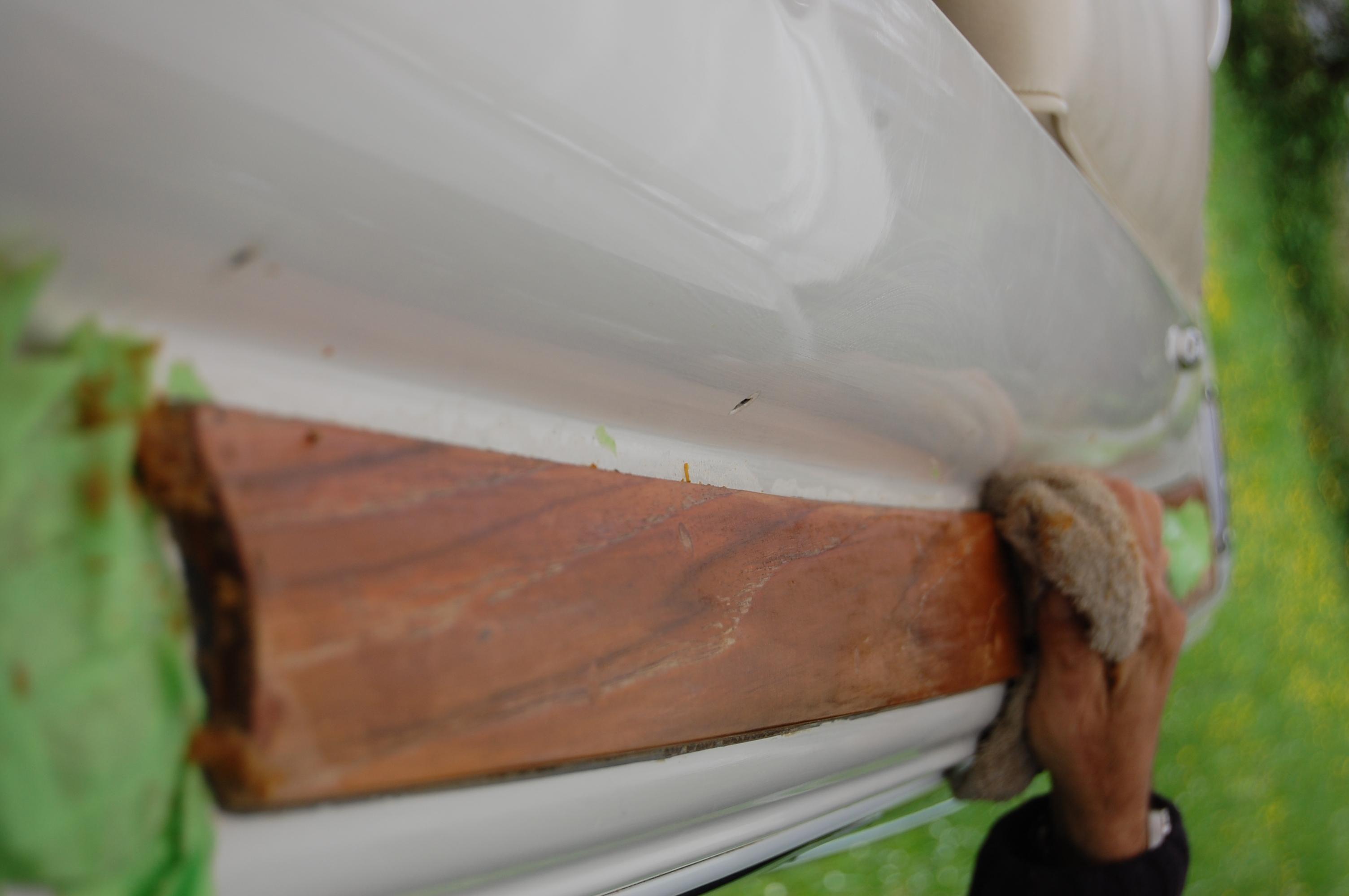 Wood restoration - Step 5