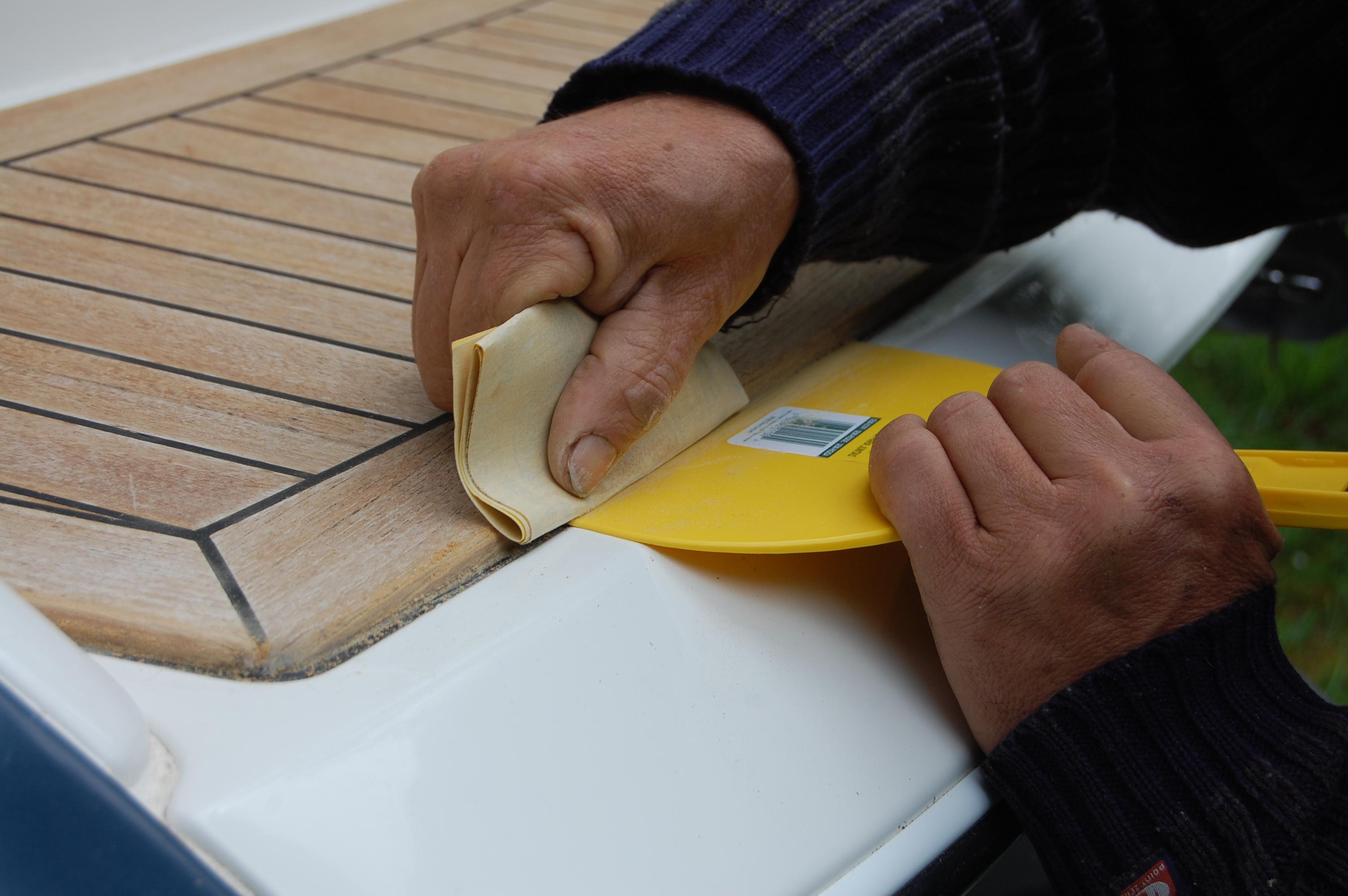 Wood restoration - step 9
