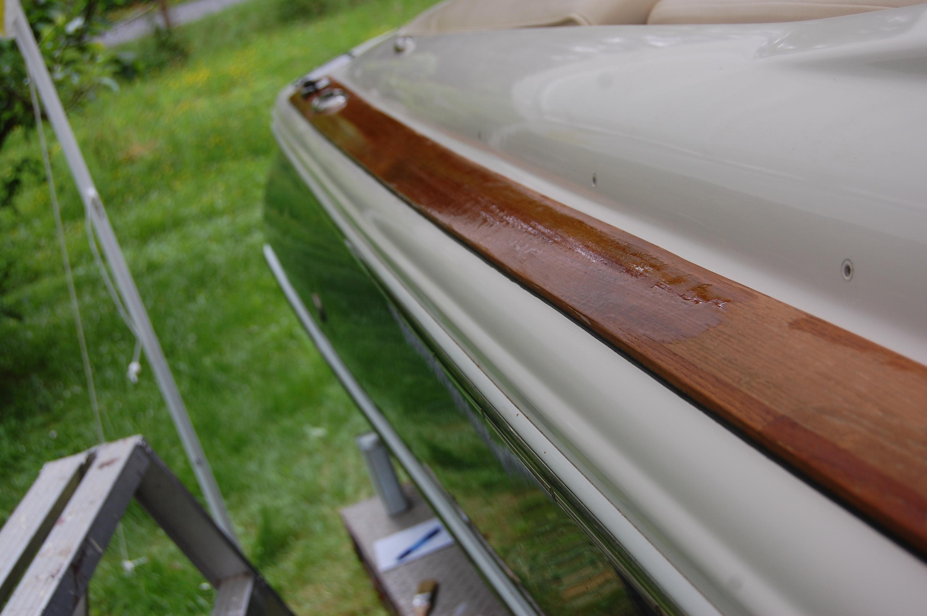 Wood restoration - step 11