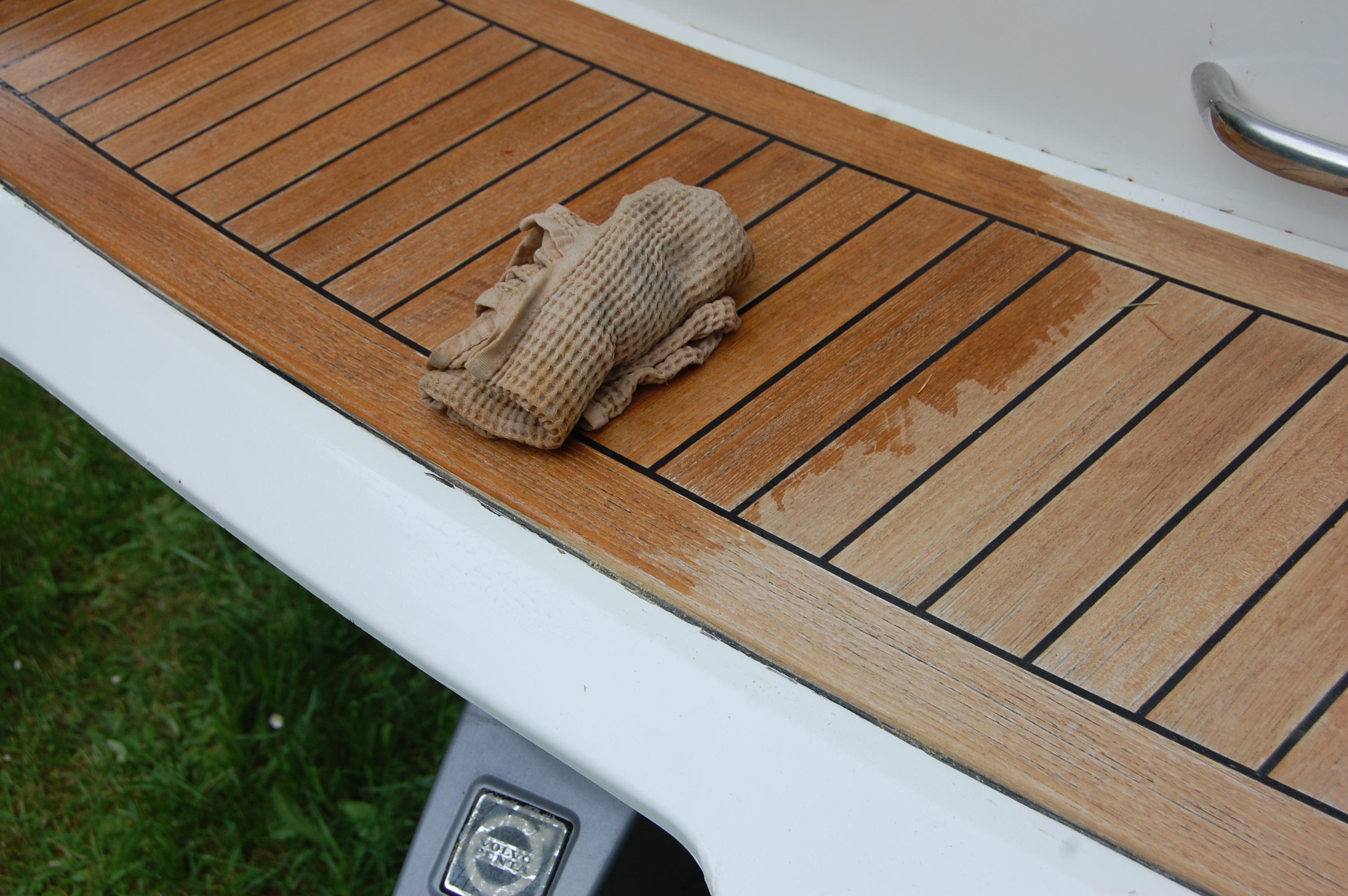 Wood restoration - step 10