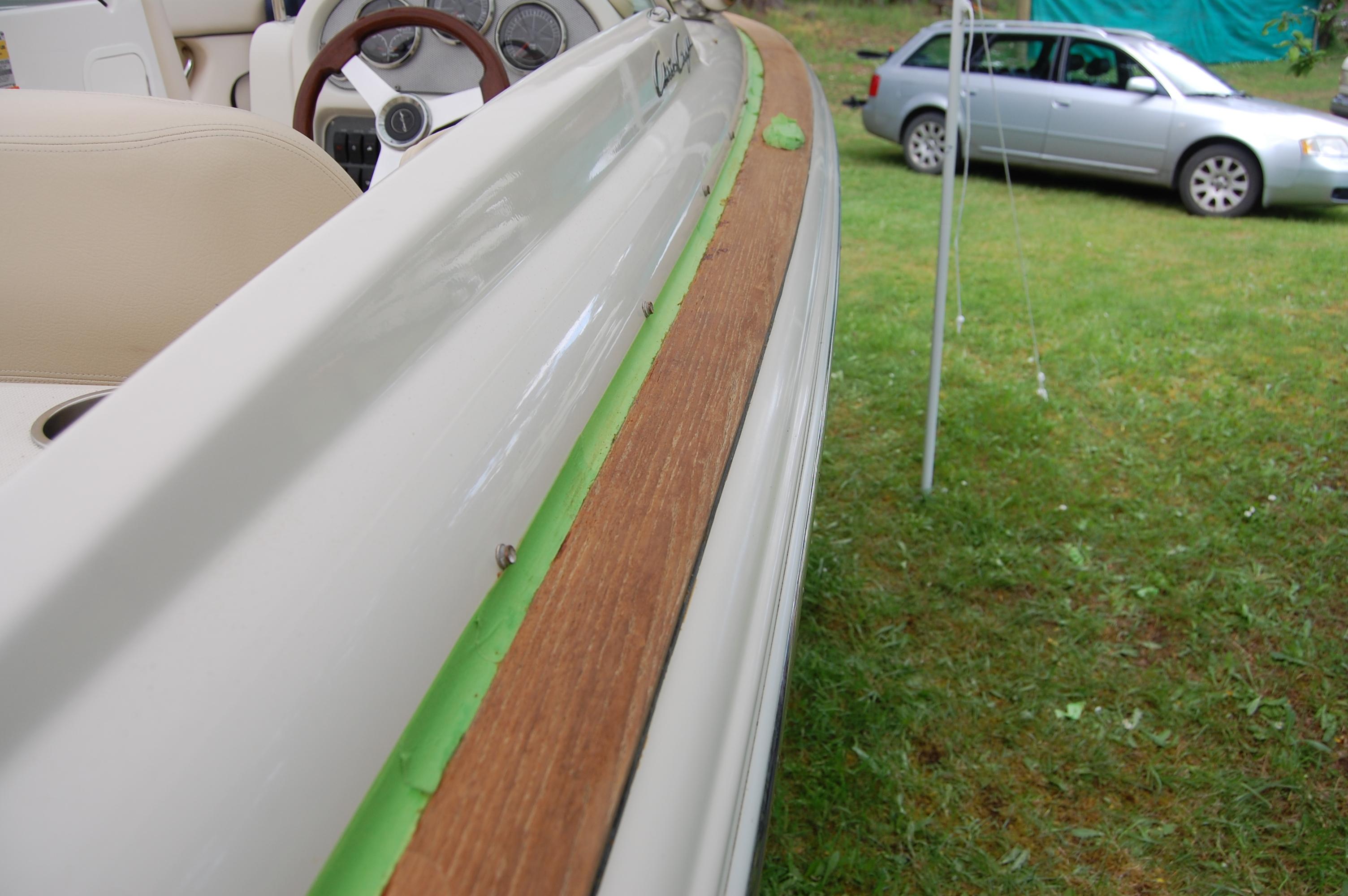 Wood restoration - Step 3