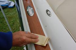 Wood restoration - Step 21