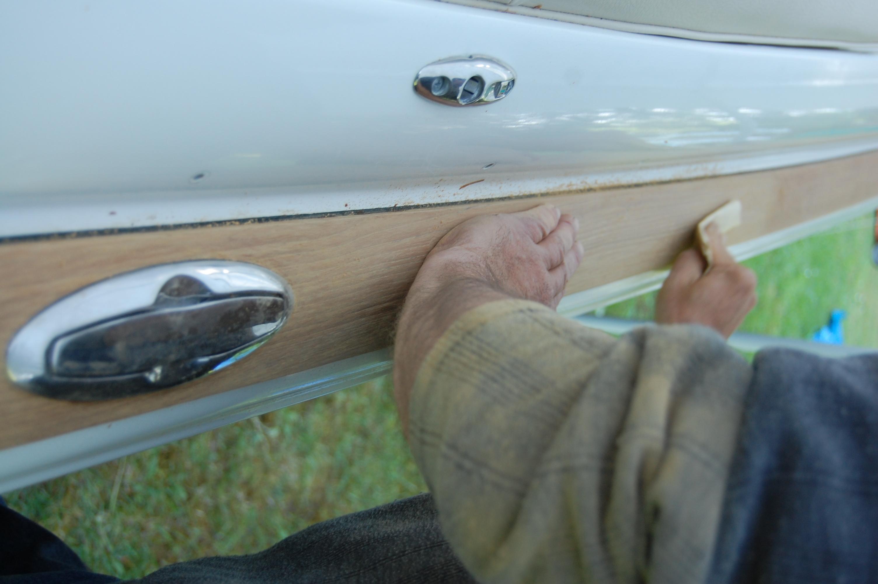 Wood restoration - step 8