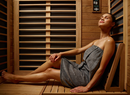 I am very excited to introduce a new addition to the office, A Far Infrared Sauna!! !