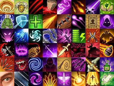 Habilidades dos personagens de Chrono's Arena