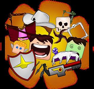 Personalização de personagens, skins, avatares e emotes