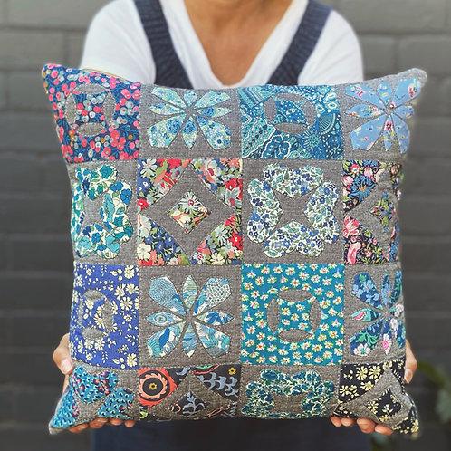 Lovely Liberty's Pillow by Emma Jean Jansen