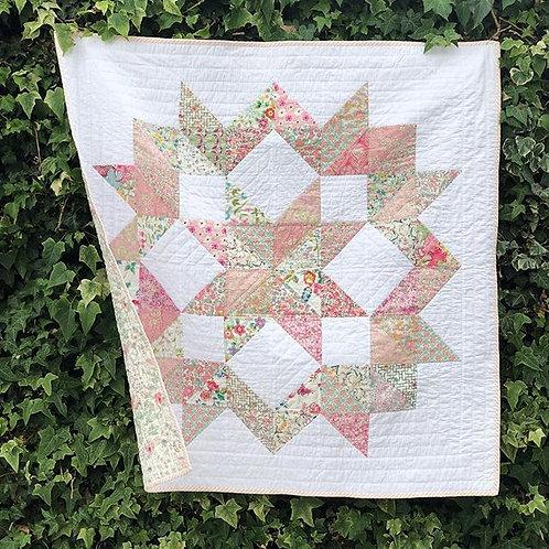Carpenter's Wheel Pattern & Fabric Bundle