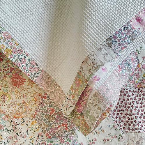 Cotton Waffle Baby Blanket