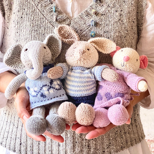 Little Cotton Rabbits in Gossyp by KPC Yarn
