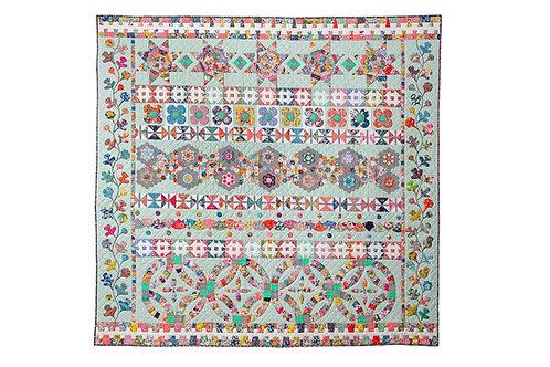 Taking Liberties a Quilt Pattern by Megan Manwaring