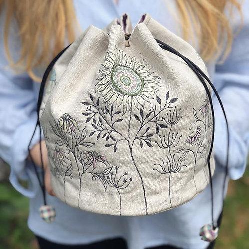 Liberty Applique Rice Bag & Pouch