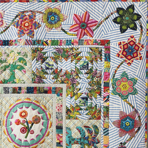 Appliqué Sampler with a Twist Quilt Pattern by Megan Manwaring